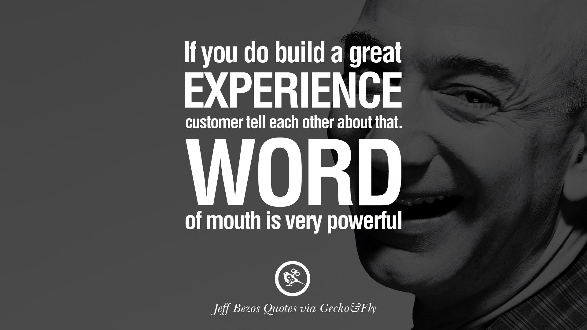 Jeff Bezos: Η διαφάνεια και η απίστευτη δύναμη του πελάτη