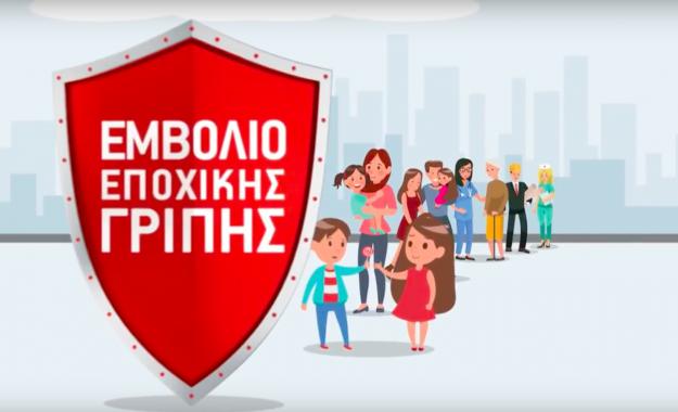 Καμπάνια ενημέρωσης κοινού για την εποχική γρίπη και τον αντιγριπικό εμβολιασμό