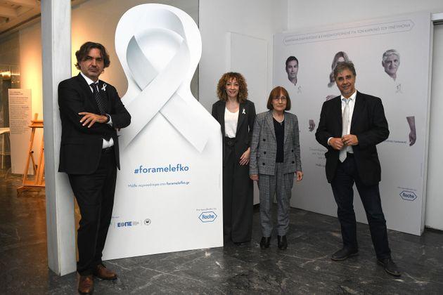 «Φοράμε λευκό»: Καμπάνια ευαισθητοποίησης για τον καρκίνο του πνεύμονα από τη Roche Hellas